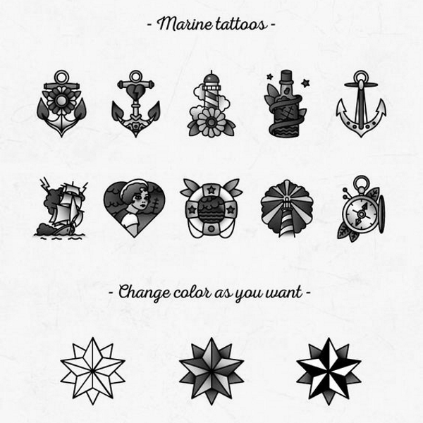 simboli marinareschi