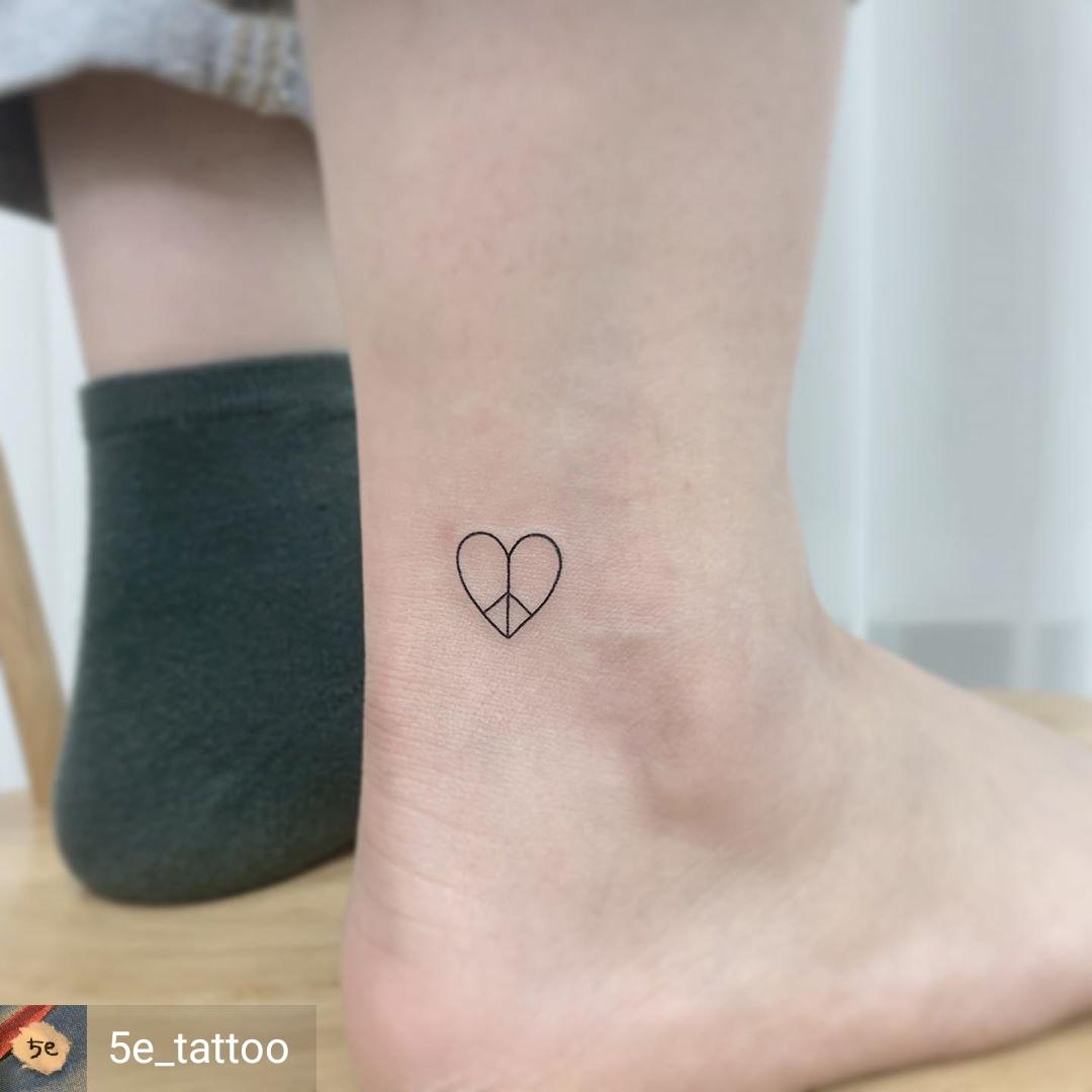 cuore tattoo idea