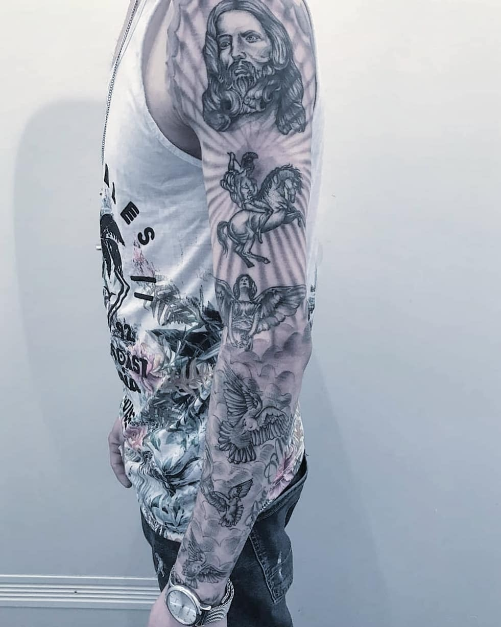 tatuaggio angelo