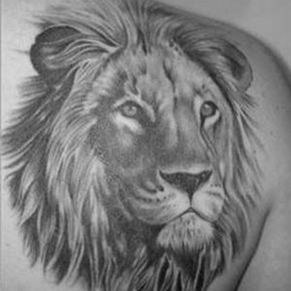 Molto Tatuaggio Leone Significato: nelle varie culture - Immagini  ML98
