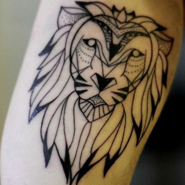 Estremamente Tatuaggio Leone Significato: nelle varie culture - Immagini  GL35