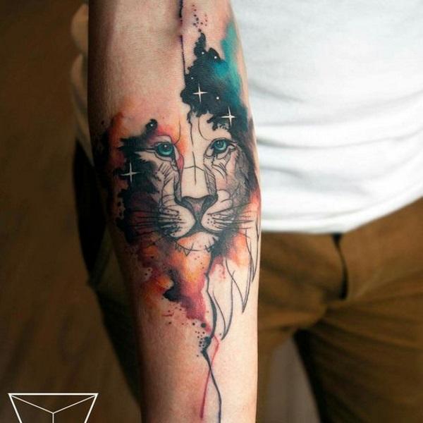Amato Tatuaggio Leone Significato: nelle varie culture - Immagini  HA66