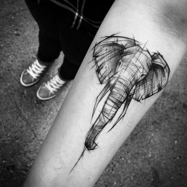 significato tatuaggio elefante (2)