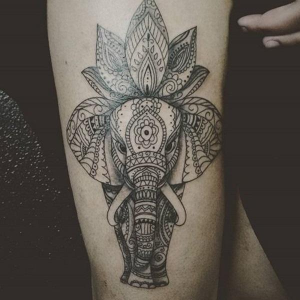 significato tatuaggio elefante (3)