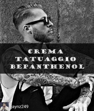 Crema tatuaggio bepanthenol