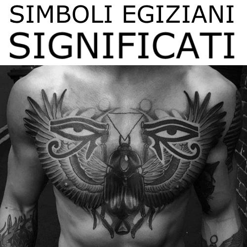 simboli egizi tatuaggi significato