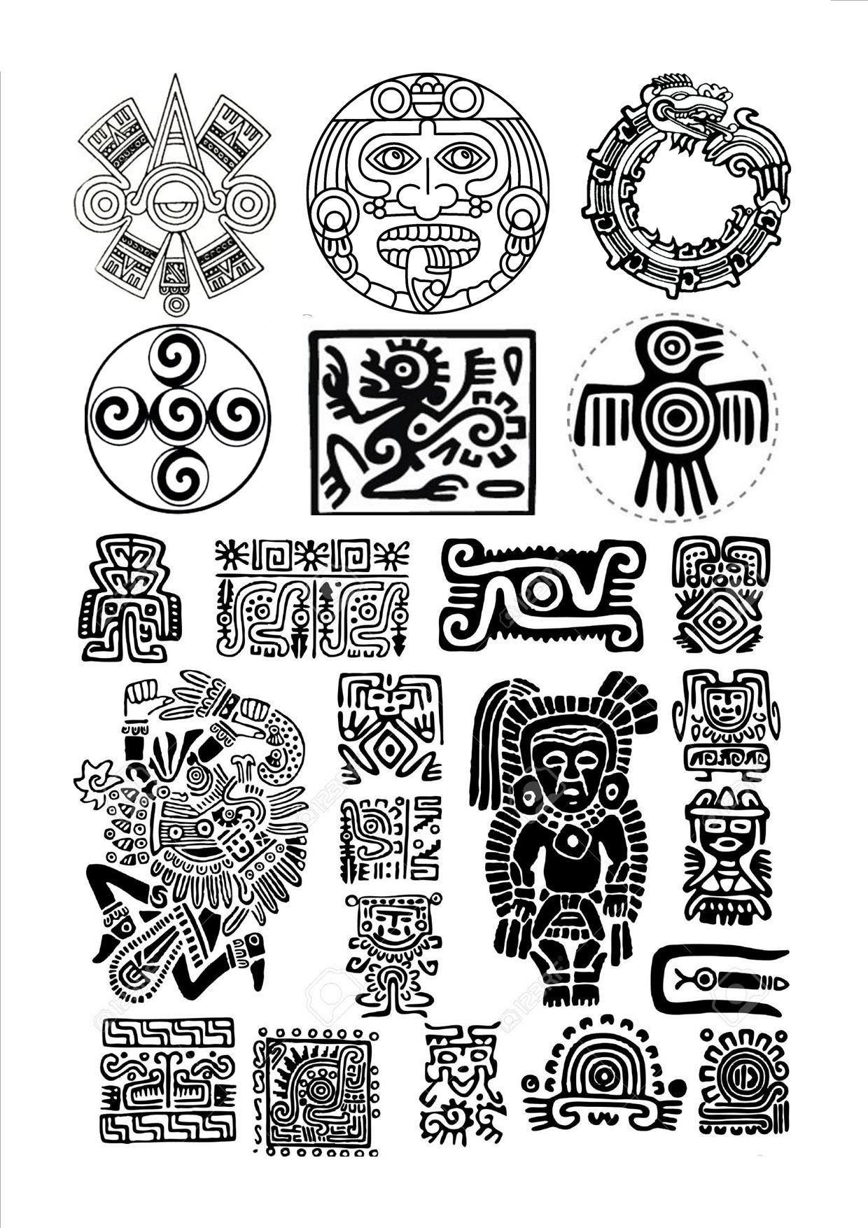 simboli aztechi
