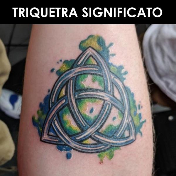 tatuaggio triquetra