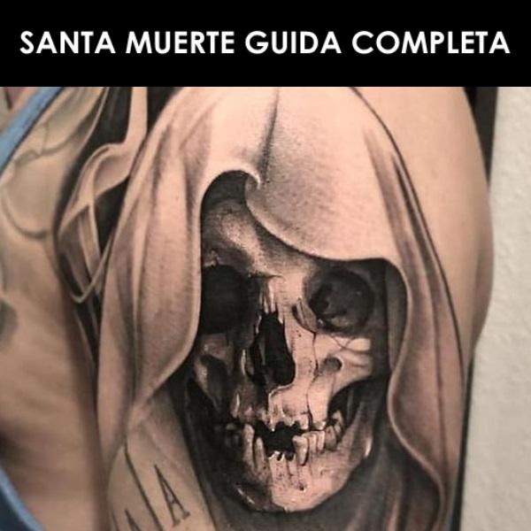 SANTA MUERTE | Tattoo, Significato, Immagini, Libri | Guida