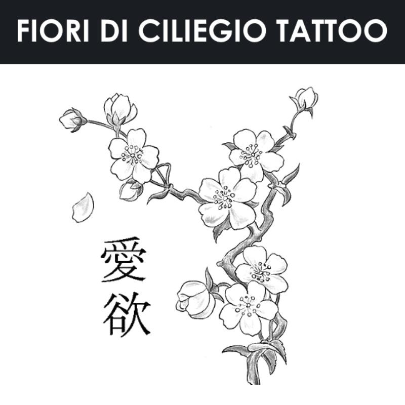 Fiori Di Ciliegio Tattoo