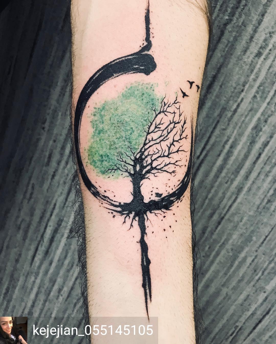 enso con albero della vita