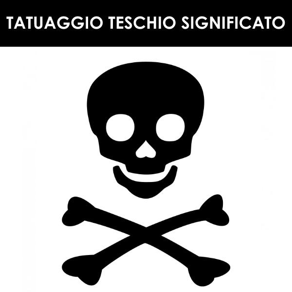 Tatuaggio Teschio jolly roger