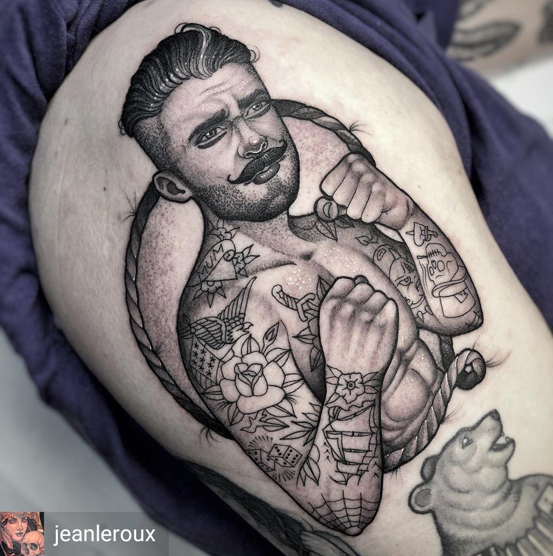Tatuaggio pugile