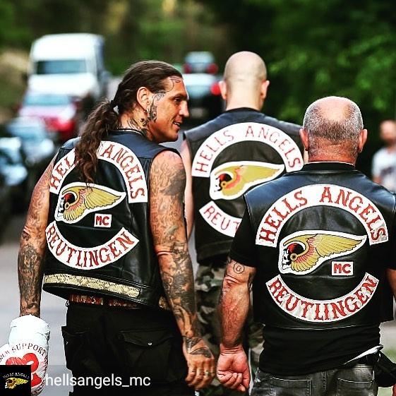 teschio tattoo hells angels
