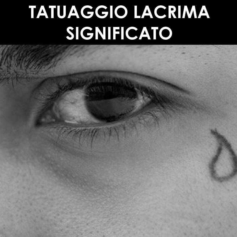 Tatuaggio lacrima