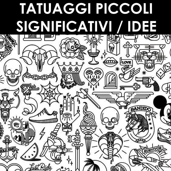 Tatuaggi piccoli significativi
